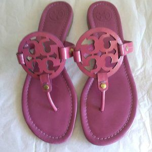 Magenta Tory Burch Miller Sandals